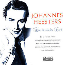 "Johannes Heesters "" One zärtliches Song "" Top Album! 78rpm Time CD New & orig."