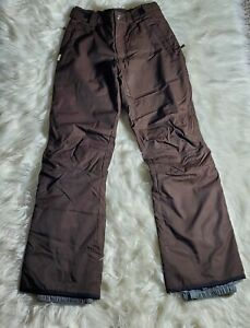ORAGE VIBE Womens XS Brown Insulated Snow Ski Outdoors Pants