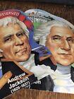 Vtg Paper Die-cuts Political Presidents George Washington Andrew Jackson History