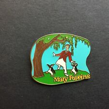 WDW - Bert and Penguins from Mary Poppins Disney Pin 7116