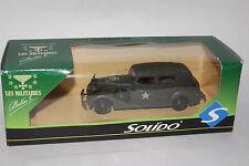 SOLIDO MILITARY #6006 PACKARD U.S. ARMY HQ STAFF CAR, 1:50, NEW IN BOX