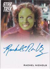 STAR TREK 2014 MOVIES TRADING CARDS RACHEL NICHOLS AS GAILA AUTOGRAPH VL