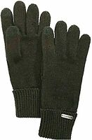 STEVE MADDEN Women's Solid Boyfriend Touch Gloves One Size Green Touchscreen