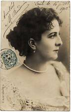 Photo post card of French actress Lamart 1900c Gelatin silver P. C. S261