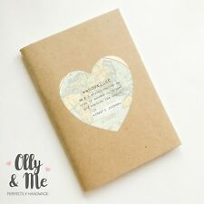 Personalised Travel/Holiday Notebook/Planner/Journal/Scrapbook Wanderlust Gift