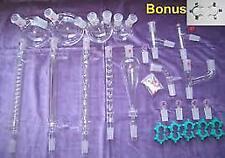Organic Chemistry Lab Glassware Kit 24/40 #30 Free Shipping