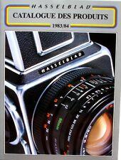 Catalogue des Produits HASSELBLAD - 1983/1984 - 500C/M - 500EL/M - 2000FC/M