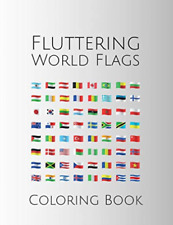 New listing Vecteezy vectors by-Fluttering World Flags Color B (Us Import) Book New