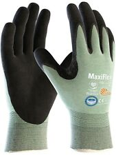 12 x MaxiFlex 34-6743 Dyneema Palm Coated Medium Cut Protection Comfort Gloves