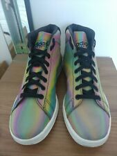 Adidas Stan Smith 'Iconic Colors' Mid Sole High Top Trainers, Size UK9, EU43