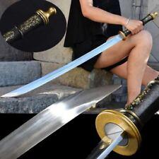 "39.7""Hand Forge Japan Samurai Sword Katana High Manganese Steel Sharp Blade #109"