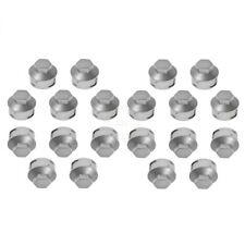 Dorman Wheel Lug Nut Cap Cover Silver Steel Wheel Set of 20 for 01-11 ford Focus