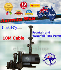Resun King 6F 8500L/hr Pond and Waterfall Water Fountain Pump - 10m cable