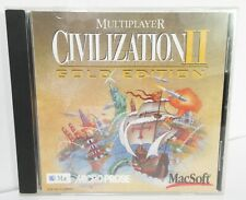 Civilization II Multiplayer Gold Edition Game for Mac 1998 MicroProse MacSoft