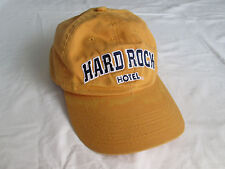 Hard Rock Hotel Orlando Florida Orange Hat Adjustable Buckle and Band Back Cap