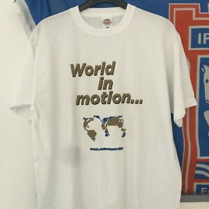 World in Motion England New Order FAC T-Shirt Italia 1990 Football World Cup