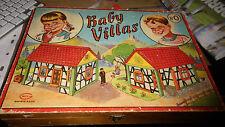 boite ancienne jeu de construction BABY VILLAS n°0 -pieces en bois