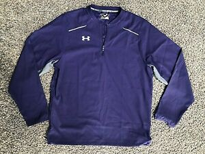 Men's UNDER ARMOUR Loose Coupe All Season Gear Light Pull Over Jacket Top Small