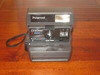 Polaroid OneStep CloseUp 600 Film Instant Camera FILM TESTED WORKS