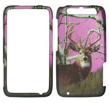 For Motorola Atrix HD MB886 Pnk Deer Pinetree Camo Plane Case Hard Phone Cover