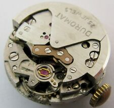 used Duromat 270 25 jewels Watch Movement for part ... Durowe