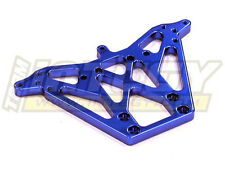 Integy Aluminum Billet Machined Rear Shock Tower for Traxxas Nitro Rustler Blue