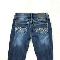 BKE Women Jeans Sabrina Size 24 X 30 Inseam Buckle 9-19