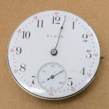 Antique Vintage Elgin Pocket Watch 7j Grade: 286 Ca. 1907 Run Quantity 1,000
