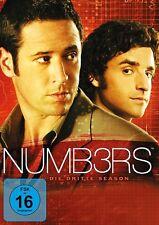 NUMBERS SEASON 3 MB  6 DVD NEU  JUDD HIRSCH/DAVID KRUMHOLTZ/ALIMI BALLARD/+