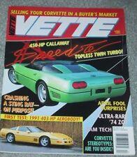 VETTE 1991 APR - L-88, Z07, STINGRAY CONCEPT