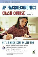 AP Macroeconomics Crash Course Book + Online Advanced Placement AP Crash Cour