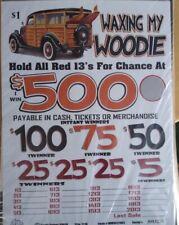 Winning Jar Tickets! $318 profit Instants Seals Waxing My Woodie