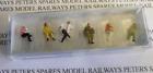 Preiser 14072 Seated Railway Travellers OO/HO Gauge Figures
