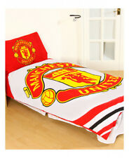 Football Manchester United FC 'PULSE' Panel Single Duvet Cover