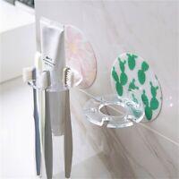 Toothpaste Toothbrush Plastic Organizer Bathroom Storage Holder Rack  Home
