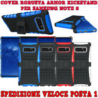 CUSTODIA COVER CASE ROBUSTA ARMOR KICKSTAND PER SAMSUNG NOTE 8 CON SUPPORTO