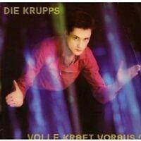 """DIE KRUPPS """"VOLLE KRAFT VORAUS"""" 2 CD 23 TRACKS NEU"""