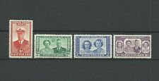 BASUTOLAND ROYAL VISIT  - 4 MINT MOUNTED  STAMPS  -VERY GOOD CONDITION.
