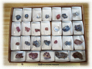 26 Red Blue Purple Spinel Rough Crystal Clusters - No Matrix - Mined in Vietnam