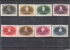 HUNGARY 1945 TRADE UNION  SET MNH  STAINED  50 euro