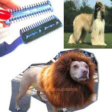 1x Pet Dog Cat Hair Trimmer Comb 2 Razor Cutting Grooming Cut Care Pet Supplies