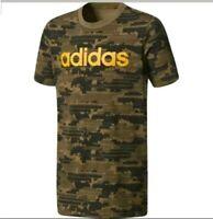 Junior Boys Adidas T Shirt Top Age UK 7 - 10 Years