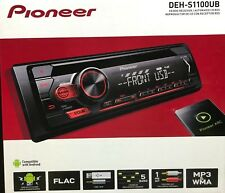 Pioneer - DEH-S1100UB - 1-DIN Car Stereo CD Player Receiver with Aux USB