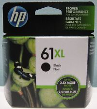 HP 61XL HIGH YIELD GENUINE BLACK INK CARTRIDGE, NEW IN BOX