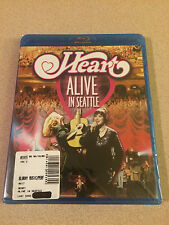 Heart - Alive In Seattle Blu-Ray Disc Sealed New Hard To Find OOP For A While