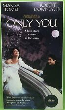 ONLY YOU VHS 1995 Robert Downey Jr Marisa Tomei Bonnie Hunt Joaquin DeAlmeida Fi