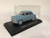 1:43 Simca Aronde 1951 Geschenk Modellauto Modelcar Scale Oldtimer Spielzeug Rar