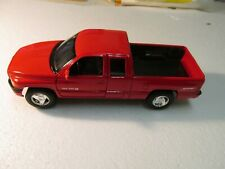 Welly Red Dodge Ram Quad Cab 1500 Sport Pickup Truck 1:24 Scale Diecast dc2627