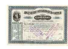 Adventure Consolidated Copper Company  1899