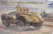 Bronco 1/35 T17E2 Staghound A A Armored Car 35026 New